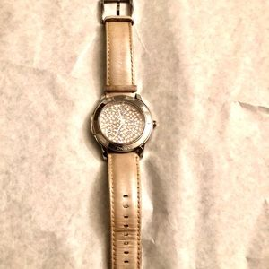 DKNY Watch with Leather strap